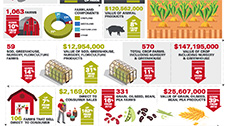 Local Foods Impact Infographic