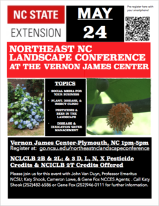 Cover photo for Northeast NC Landscape Conference