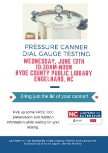 Cover photo for Free Pressure Canner Dial Gauge Testing