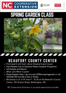 2019 BOCO Spring Garden Flyer