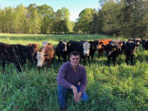 Cover photo for Blake Allen - Seeking Grazing Land in NC Piedmont.