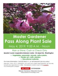 EMGV Plant Sale Flyer