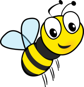 Bee picture. http://www.clker.com/clipart-232642.html noopener