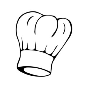 Chef hat. http://www.clker.com/clipart-chef-hat-3.html noopener