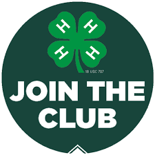 Join the Club 4-H logo