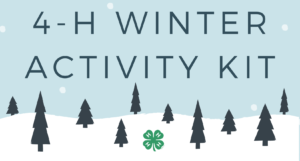 Cover photo for 4-H Winter-Themed Activity Kits