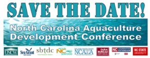 Cover photo for NC Aquaculture Development Conference Save the Date