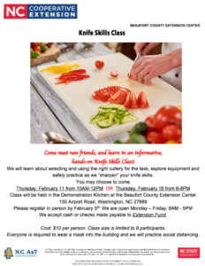 Cover photo for Knife Skills Class