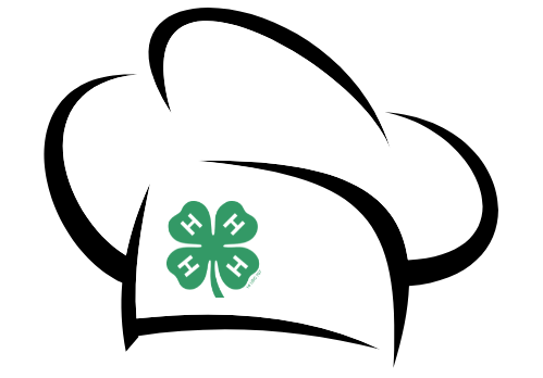 chef hat with 4-H logo